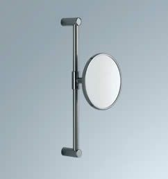 Unusual wall mounted shaving mirror, very contemporary.  Product image for Inda Wall Mounted Magnifying Mirror