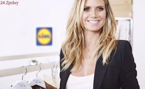 Modelka Heidi Klum pro Lidl: Pestré oblečení a módní trendy dostupné všem