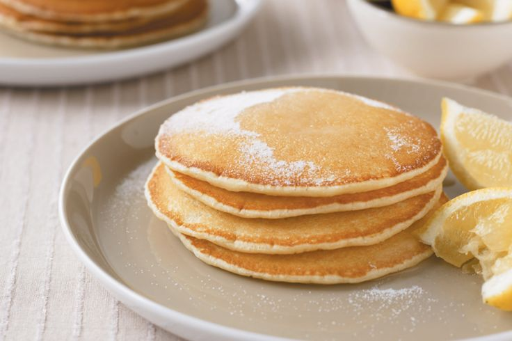 Sugar and lemon add sweetness and spice to these very nice pancakes.