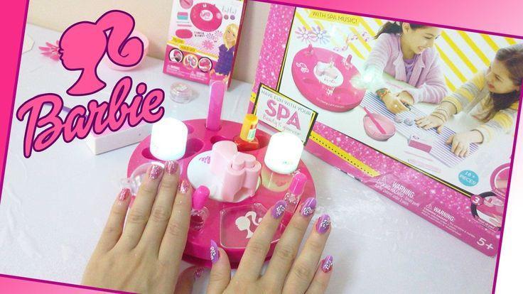 العاب بنات | العاب باربي لطلاء الاظافر و تزيينها | Barbie toys Accessori...