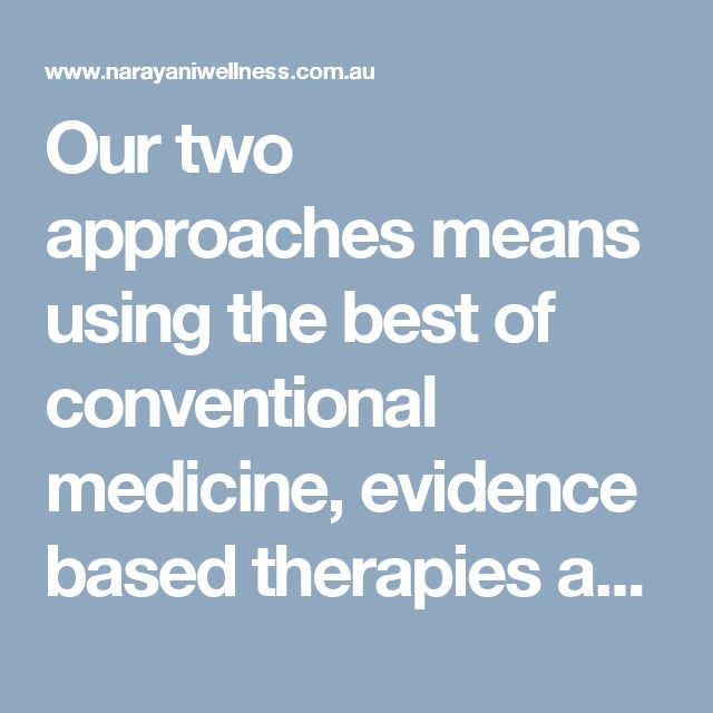 Narayani Wellness Medical is one of Melbourne's few holistic clinic's that offers both medical and naturopathic advice. Our unique shared care approach will have all of your health needs taken care of.  Visit here: http://www.narayaniwellness.com.au/shared-care-model/