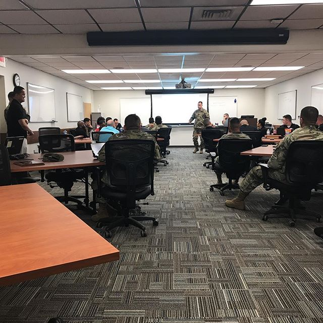 Company Training with Central Florida Recruiting Company Spartans