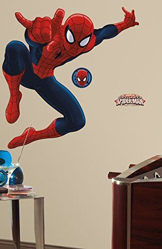 Ultimate Amazing Spiderman Wall Decal *** Find out more about the great product at the image link.Note:It is affiliate link to Amazon.