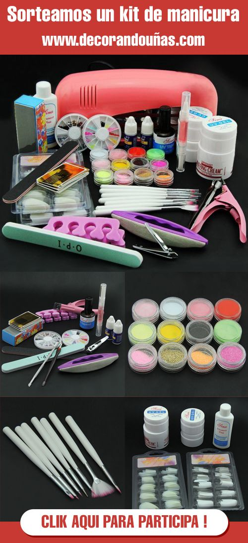 Sorteamos un kit completo de manicura!! - http://xn--decorandouas-jhb.com/sorteamos-un-kit-completo-de-manicura/