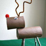 Posable Reindeer Craft! This is pretty cute!