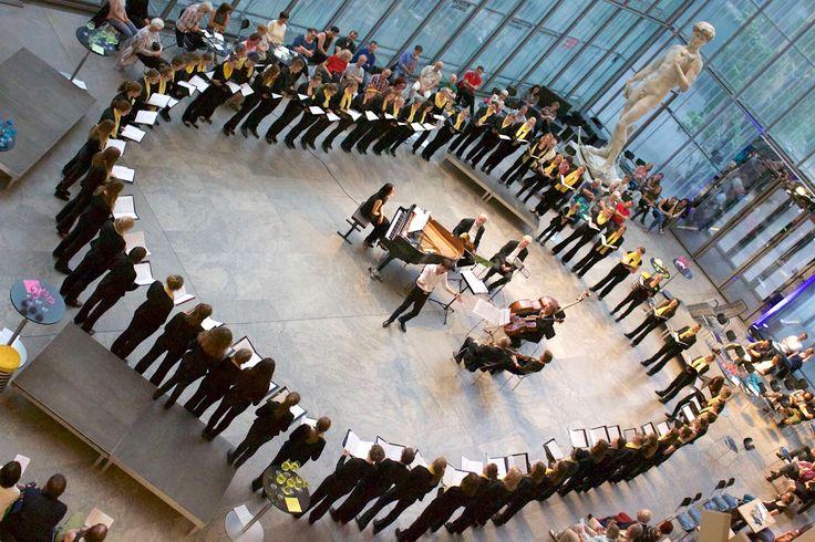 Mädchen- und Frauenchor der Stadt Leipzig, Juni 2017, Foto: Marieke Bauch