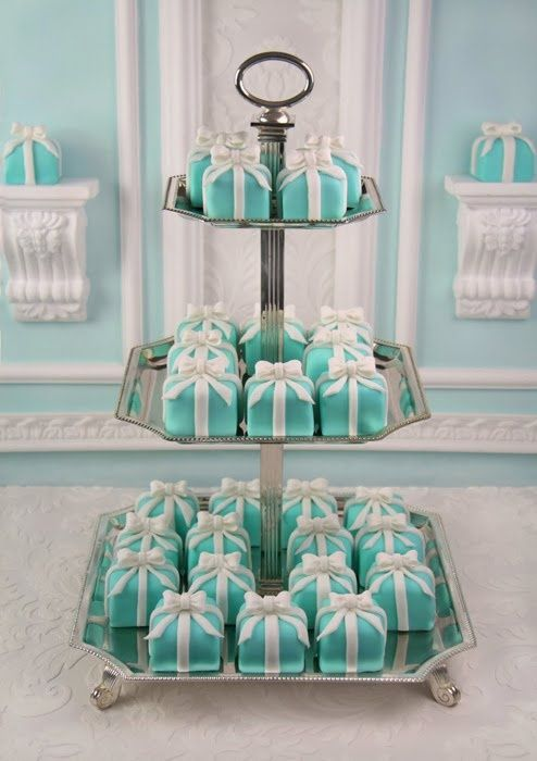 Tiffany's an idea for the shower