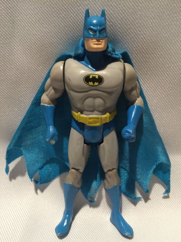 Batman W Cape 1984 Kenner Super Powers Vintage Dc Comics