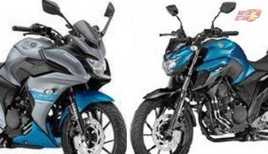 Yamaha Fazer 25 vs Yamaha FZ25 Comparison  https://motoroctane.com/bike-comparison/94729-yamaha-fazer-25-vs-yamaha-fz25-comparison