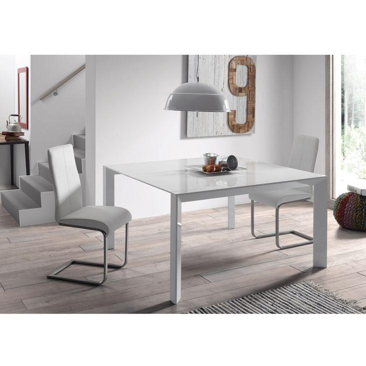 Newport tafel 90-140 bij 140 cm | LaForma-Kave
