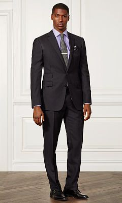 Drake Wool Twill Suit - Purple Label Formalwear - RalphLauren.com