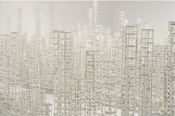 Paper Metropolis Delicately Explores Urban Density | The Creators Project