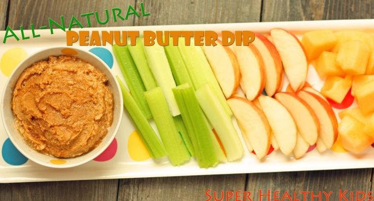 All Natural Homemade Peanut Butter from Super Healthy Kids #healthyandportable