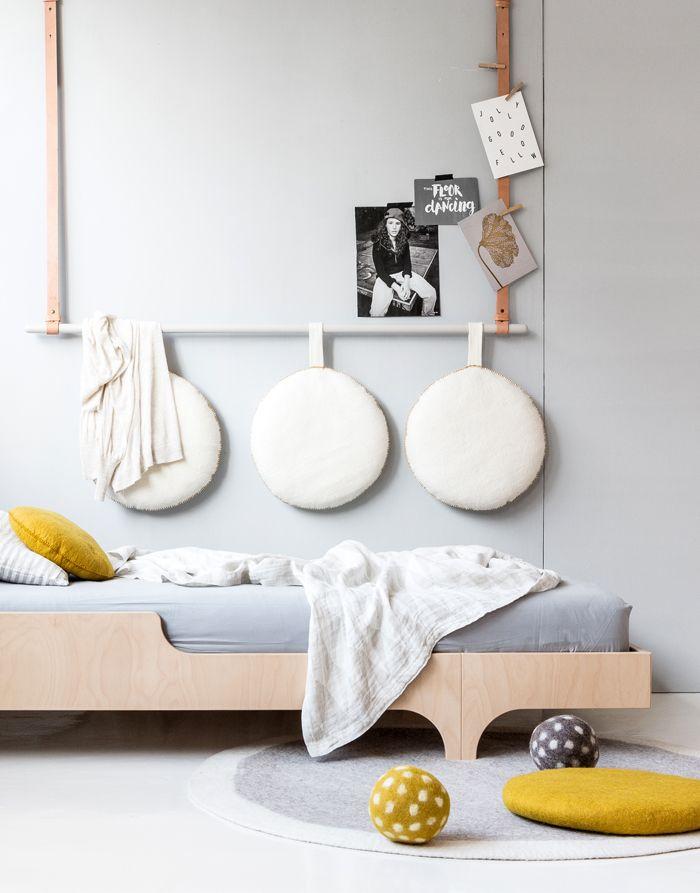 a teen bed with soft pillows headboard pinterest teen rh pinterest com