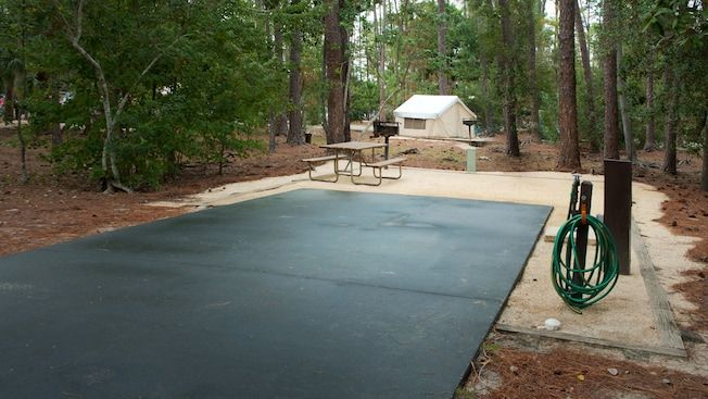 campsite with full hook up disney walt disney world parks fort rh pinterest com