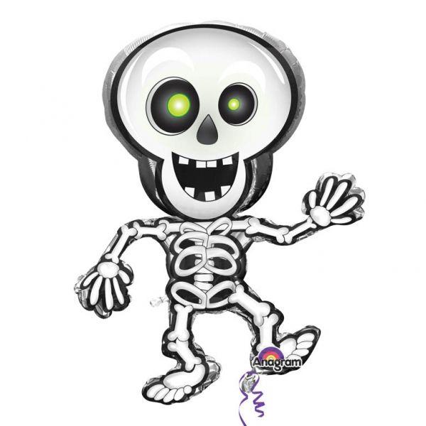 Ballon aluminium squelette #Halloween #LeGuide