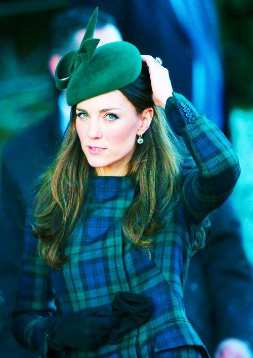 Kate on Christmas Morning