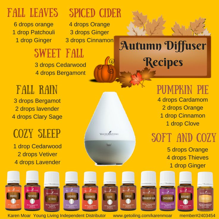 My house smell wonderful throughout the fall with these great diffuser blends! www.getoiling.com/karenmoar