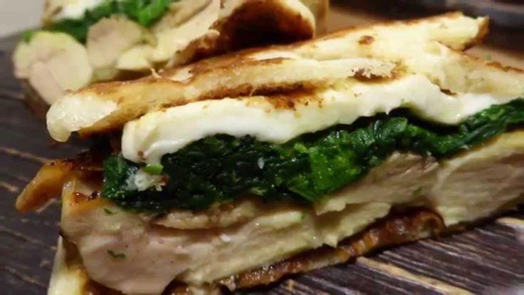sandwich chicken pancake