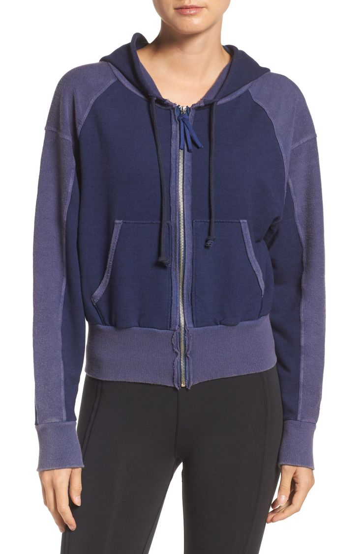 New Free People FP Movement Shadowboxer Hoodie BLUE ORION fashion online. [$98] new offer from Offershop<<
