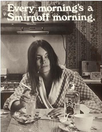 """The Most Bizarre Vintage Advertisements Ever - DesignTAXI.com....I almost pinned this to my """"Breakfast"""" board, lol!"""