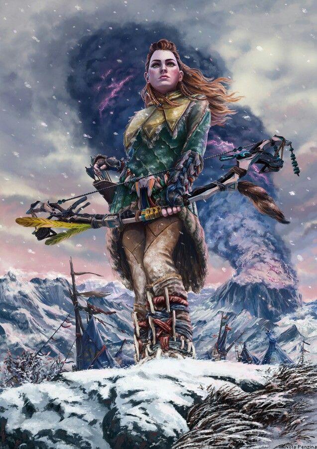 Horizon Zero Dawn - The Frozen Wilds | Project GAIA in ...