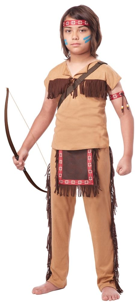 Native American Brave Child Costume - 352664
