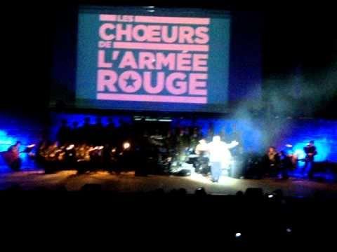▶ Extrait: Hymne Russe - Choeurs de l'Armée Rouge - Festival Carthage 2013 - YouTube