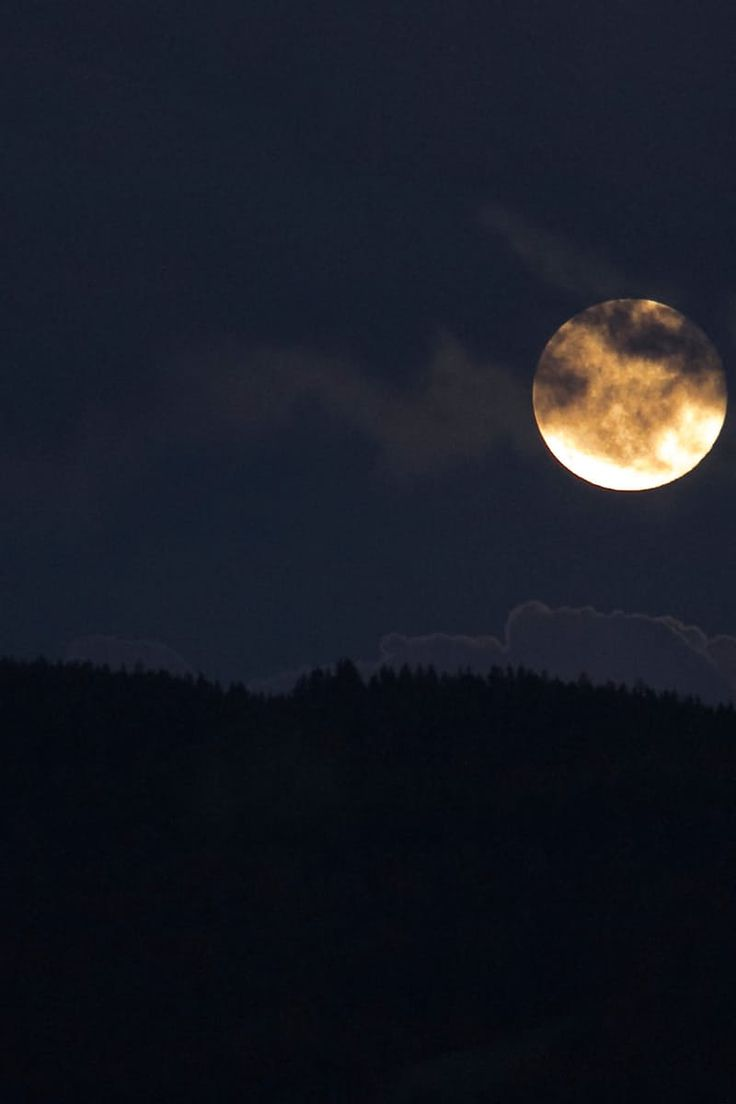 black wallpaper, full moon, moon