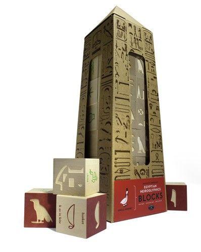 Uncle Goose - Egyptian Hieroglyphic Blocks - great introduction to Egyptian history #EntropyWishList #PinToWin