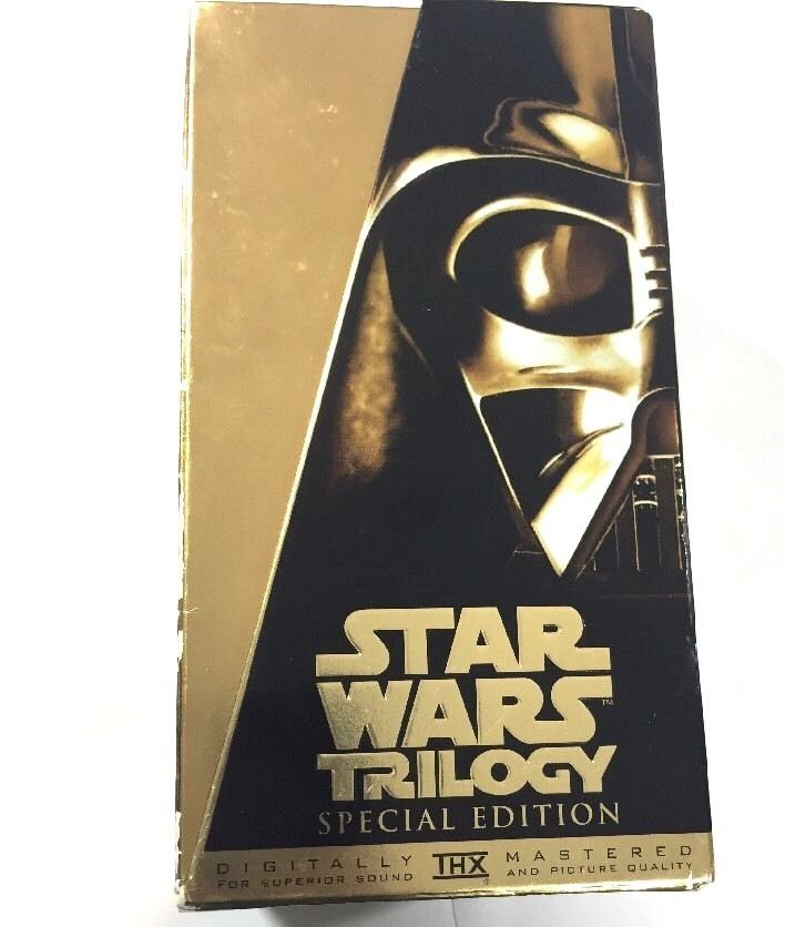 Star Wars Trilogy VHS Box Set, Special Edition 1997. Condition:Box shows wear including scrapes, dents and scratches. VHS tapes look great but are untested and all need rewinding!Each individual tape has a sleeve and all sleeves are in great shape. | eBay!