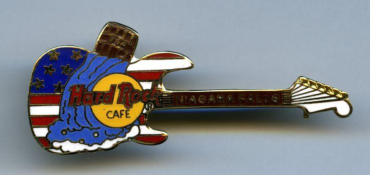 Niagara Falls, New York - Hard Rock Cafe Guitar Pin