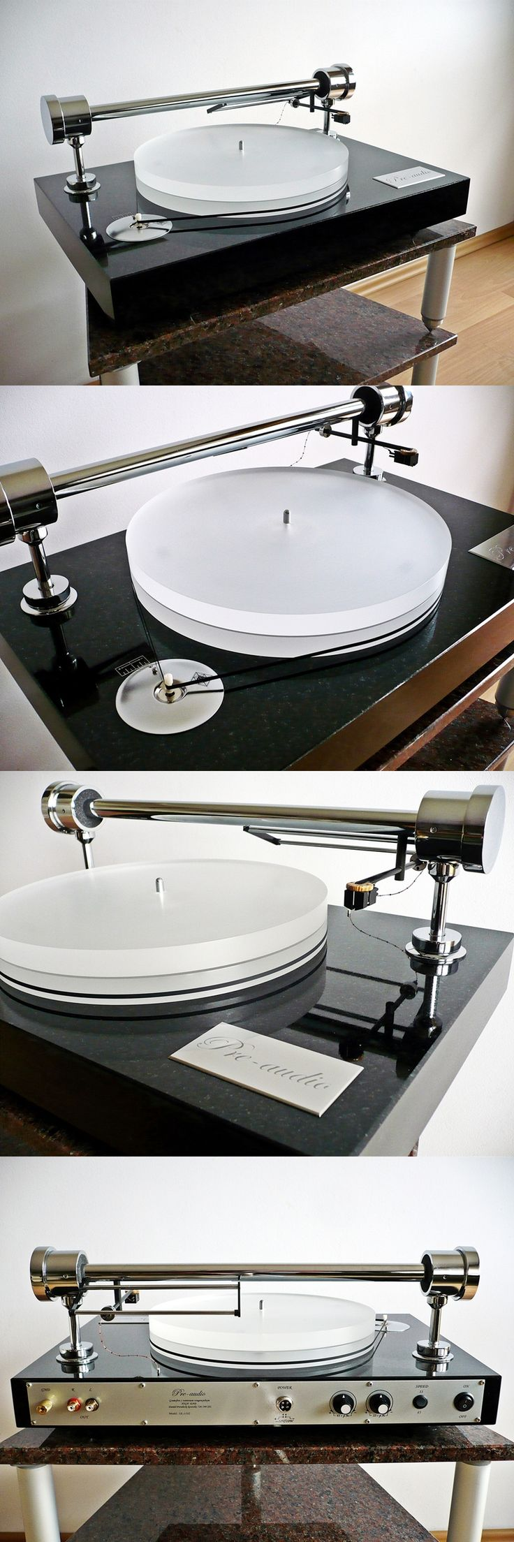 Turntable (tangential model with grate quality of sound) made by pre-audio.com