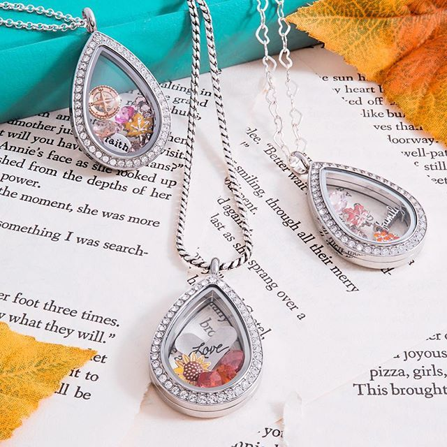 {NEW TEARDROP} locket now available to hold your precious memories! #OrigamiOwl http://www.karynlittle.origamiowl.com/