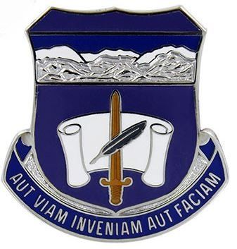 ARMY CREST: 440TH CIVIL AFFAIRS BATTALION - AUT VIAM INVENIAM AUT FACIAM
