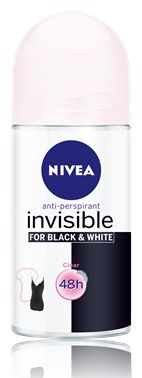 NIVEA INVISIBLE CLEAR ANTYPERSPIRANT W KULCE