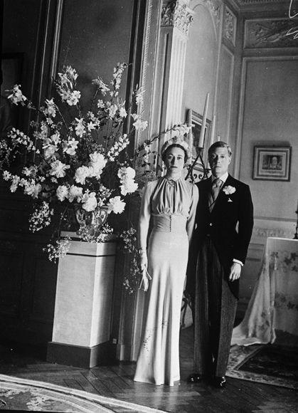 Galería de imágenes - Foto 1 - La boda de Eduardo VIII, después duque de Windsor, y Wallis Simpson