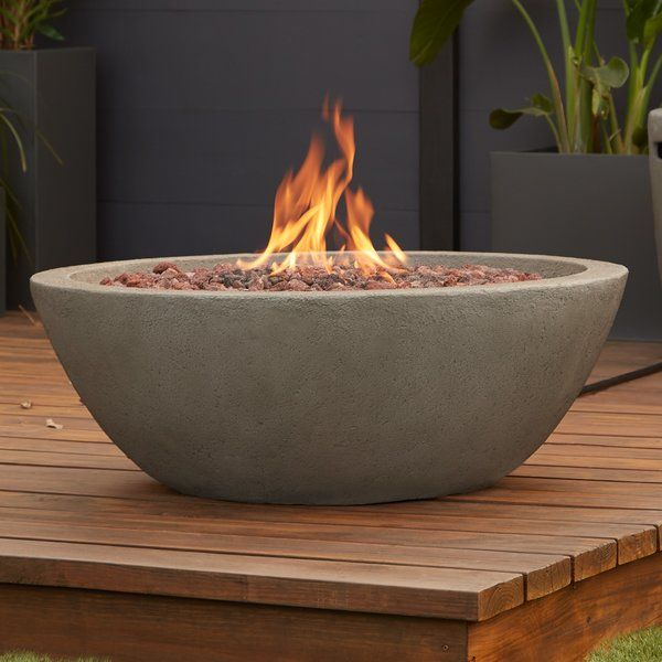 Riverside Concrete Propane Fire Pit Natural Gas Fire Pit Fire Pit Gas Firepit