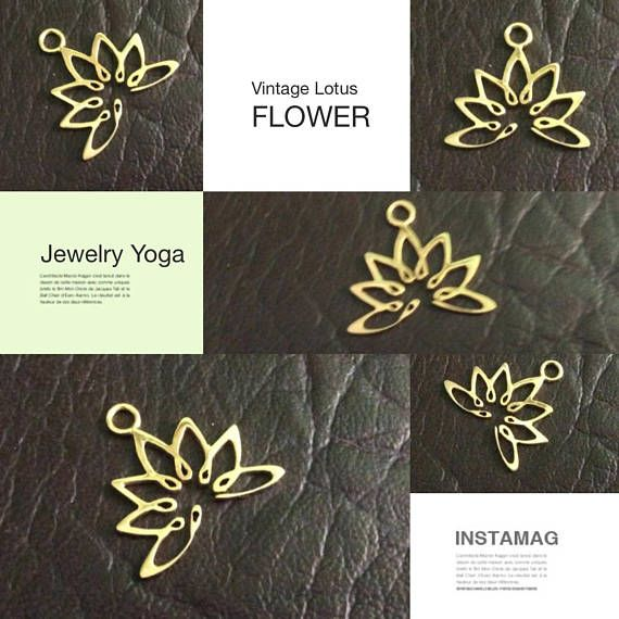 PRODUCT INFO:  Item code: CH557135 Name item: silver Lotus charm 19.2 x 18.3 mm with jumpring Full Name: 925 sterling silver Lotus charm 19.2 x 18.3 mm with jumpring available in sterling silver & vermeil Fabrication method: Handmade each item cut individually Style: Lotus Charm Dimension: 19.2 x 18.3 mm Tightness: 0.90 mm Rings/Loop inside dia.: jumpring 0.75 x 2.5 mm inside dia. Clusters/Balls/Accents: None Approximate weight for 6 pieces: 4.14 gram Country of origin: Ind...
