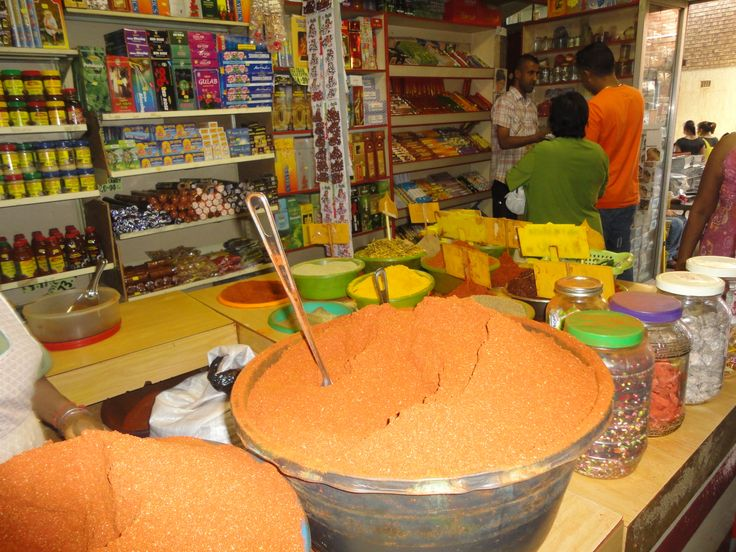 Visit to an Indian spice shop - a must in Durban