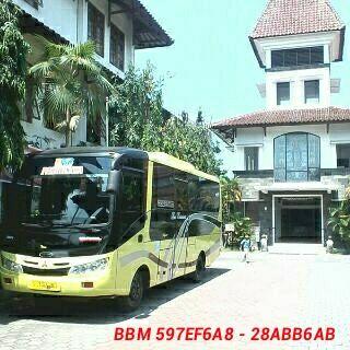 Sewa Bus Pariwisata Jogja Seat 25   Sewa Bus Murah Jogja