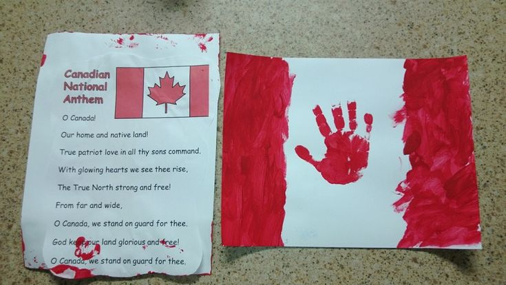 A Quick And Easy Canada Day Craft | Canadian Dad