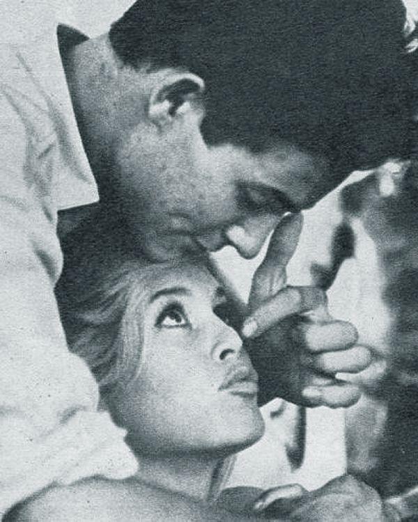 Brigitte Bardot and Jacques Charrier