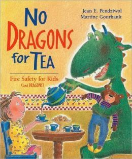 "*No Dragons for Tea* Fire Safety Book for the home! Children's picture and board books about school fire drills, fire safety week in the classroom, fire safety at home, and an inside look at the daily life of firefighters! ""Firefighter Books from a Fire Family"""
