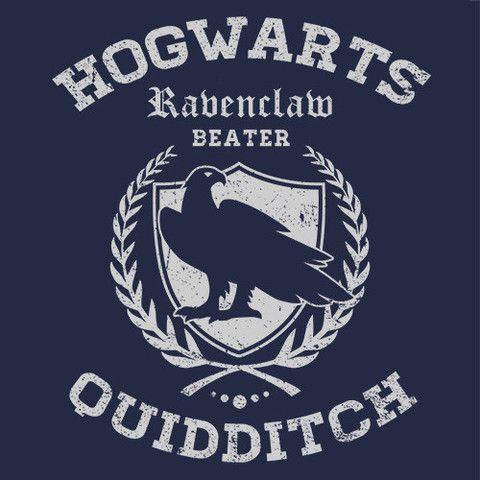 Ravenclaw Quidditch Cheap Funny T-Shirt   Textual Tees