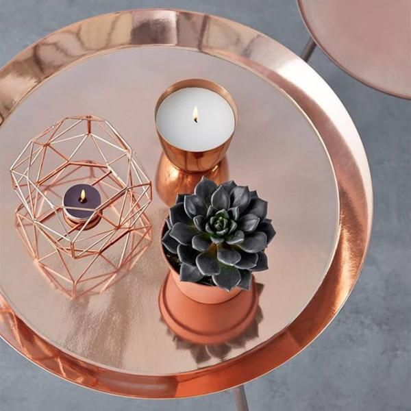 Table basse en cuivre - Urban Outfitters