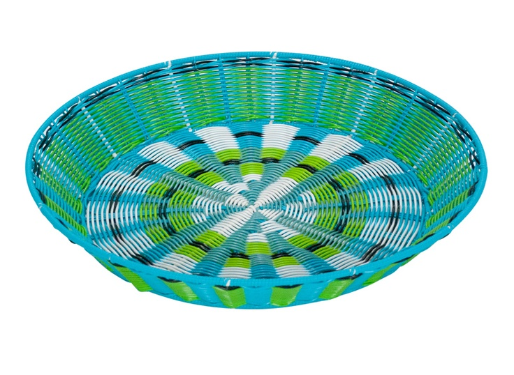 Annabel Trends twist platter blue
