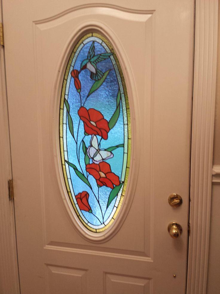 Front Door Insert - Delphi Artist Gallery & 523 best STAINED GLASS doors images on Pinterest | Glass doors ... pezcame.com