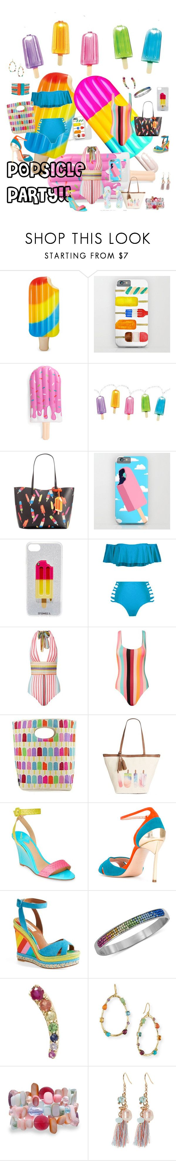"""Popsicle party"" by traceyenorton ❤ liked on Polyvore featuring INC International Concepts, Iphoria, Missoni Mare, Solid & Striped, Style & Co., B Brian Atwood, Casadei, Valentino, Loquet and Ippolita"