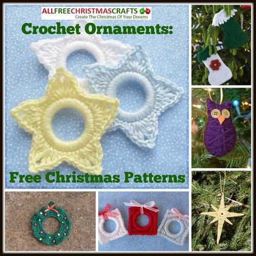 Crochet Ornaments: 27 Free Christmas Patterns | These range from easy to difficult crochet projects, but they are all fun and perfect for Christmas.